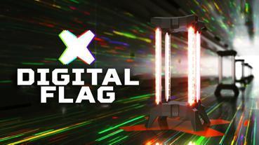 Digital flag Laser tag